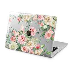 Lex Altern Lex Altern Pastel Roses Case for your Laptop Apple Macbook.