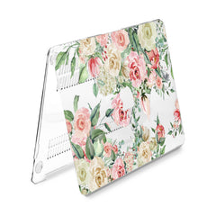 Lex Altern Hard Plastic MacBook Case Pastel Roses