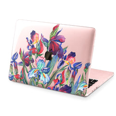 Lex Altern Hard Plastic MacBook Case Iris Blue