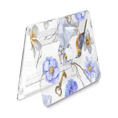 Lex Altern Hard Plastic MacBook Case Floral Bird