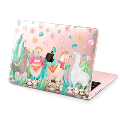 Lex Altern Hard Plastic MacBook Case Cute Llamas
