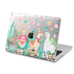 Lex Altern Lex Altern Cute Llamas Case for your Laptop Apple Macbook.