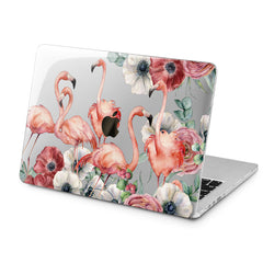 Lex Altern Lex Altern Flamingo Flowers Case for your Laptop Apple Macbook.