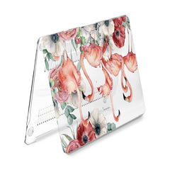 Lex Altern Hard Plastic MacBook Case Flamingo Flowers