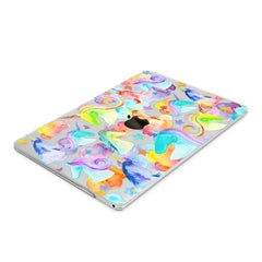 Lex Altern Hard Plastic MacBook Case Colorful Unicorns
