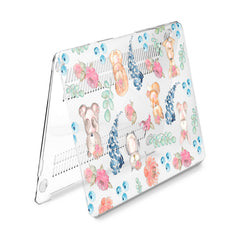 Lex Altern Hard Plastic MacBook Case Animal Watercolor