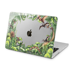 Lex Altern Lex Altern Tropical Dinosaurs Case for your Laptop Apple Macbook.