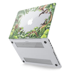 Lex Altern Hard Plastic MacBook Case Tropical Dinosaurs