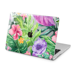 Lex Altern Lex Altern Exotic Flowers Case for your Laptop Apple Macbook.