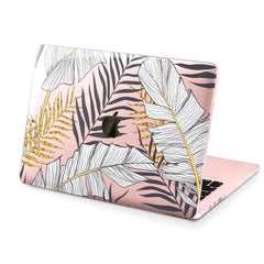 Lex Altern Hard Plastic MacBook Case Golden Leaves
