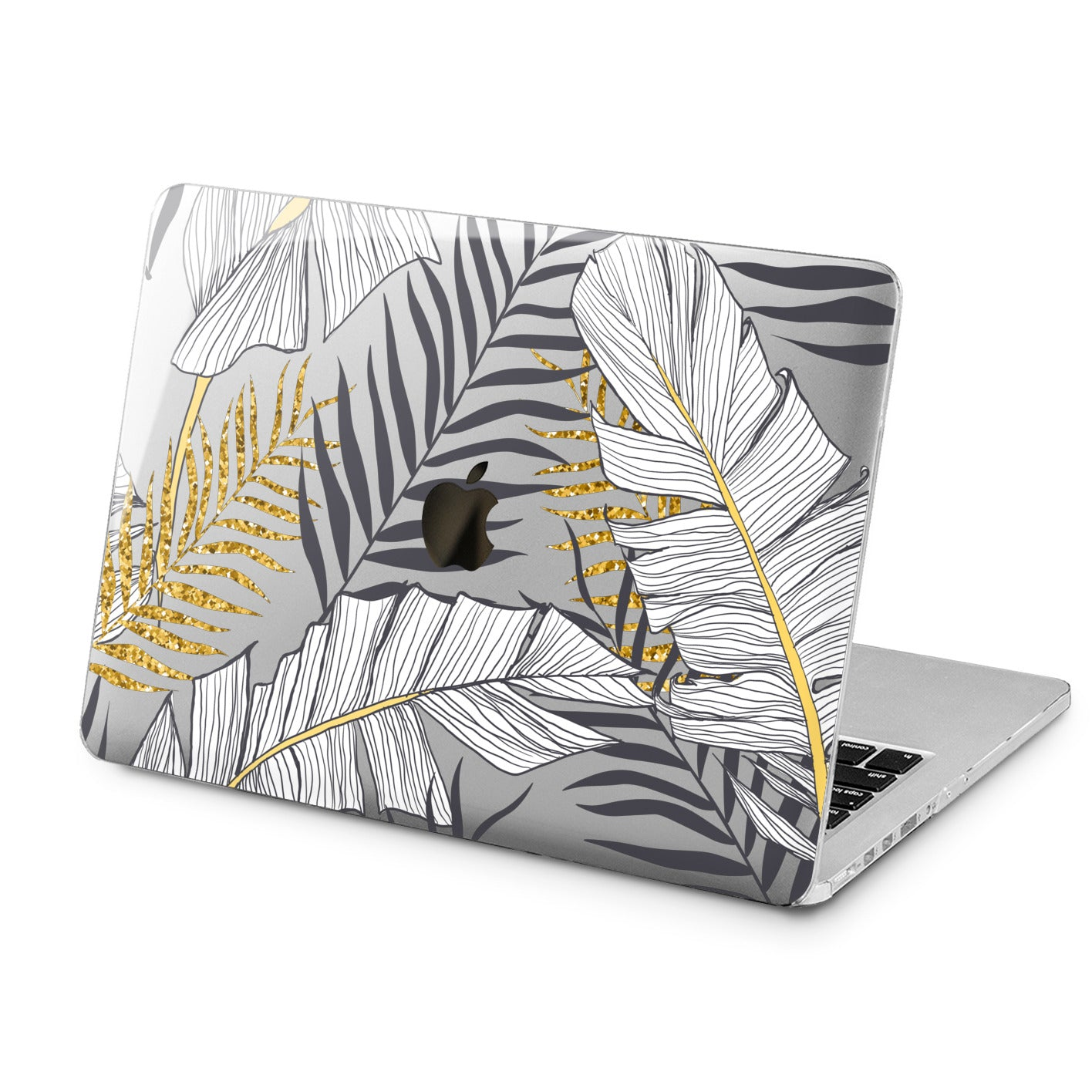 Lex Altern Lex Altern Golden Leaves Case for your Laptop Apple Macbook.