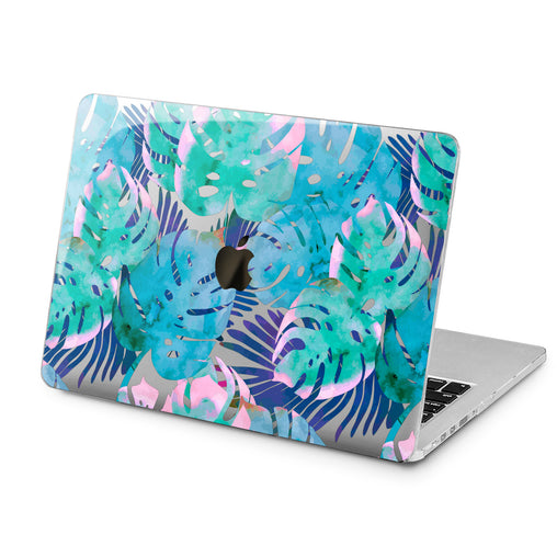 Lex Altern Lex Altern Abstract Monstera Case for your Laptop Apple Macbook.
