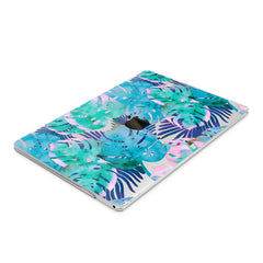 Lex Altern Hard Plastic MacBook Case Abstract Monstera