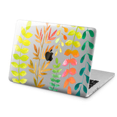 Lex Altern Lex Altern Colorful Leaves Case for your Laptop Apple Macbook.