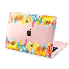 Lex Altern Hard Plastic MacBook Case Autumn Flowers