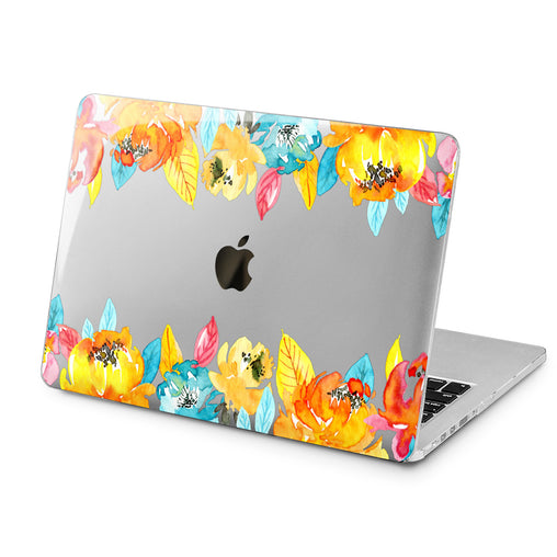 Lex Altern Lex Altern Autumn Flowers Case for your Laptop Apple Macbook.