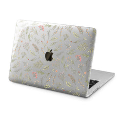 Lex Altern Lex Altern Tender Wildflowers Case for your Laptop Apple Macbook.
