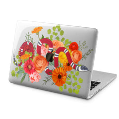 Lex Altern Lex Altern Floral Snake Case for your Laptop Apple Macbook.