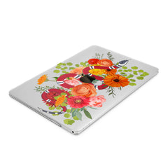 Lex Altern Hard Plastic MacBook Case Floral Snake
