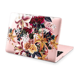 Lex Altern Hard Plastic MacBook Case Amazing Lilies