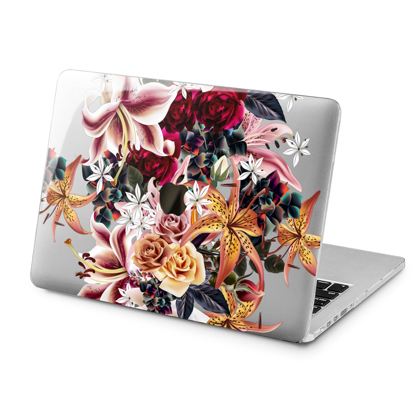 Lex Altern Lex Altern Amazing Lilies Case for your Laptop Apple Macbook.