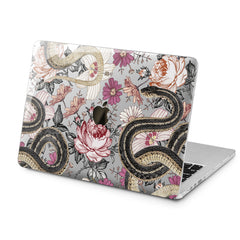 Lex Altern Lex Altern Botanical Snakes Case for your Laptop Apple Macbook.