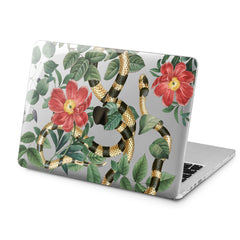 Lex Altern Lex Altern Golden Snake Case for your Laptop Apple Macbook.