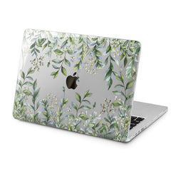 Lex Altern Lex Altern Green Leaves Theme Case for your Laptop Apple Macbook.