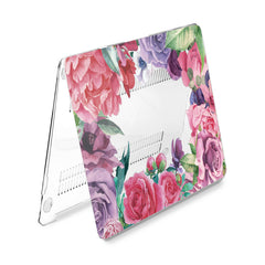 Lex Altern Hard Plastic MacBook Case Floral Bouquet