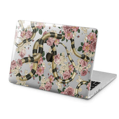 Lex Altern Lex Altern Roses Snake Theme Case for your Laptop Apple Macbook.