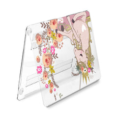 Lex Altern Hard Plastic MacBook Case Adorable Unicorn