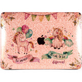 Lex Altern MacBook Glitter Case Cute Unicorn