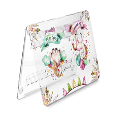 Lex Altern Hard Plastic MacBook Case Cute Unicorn