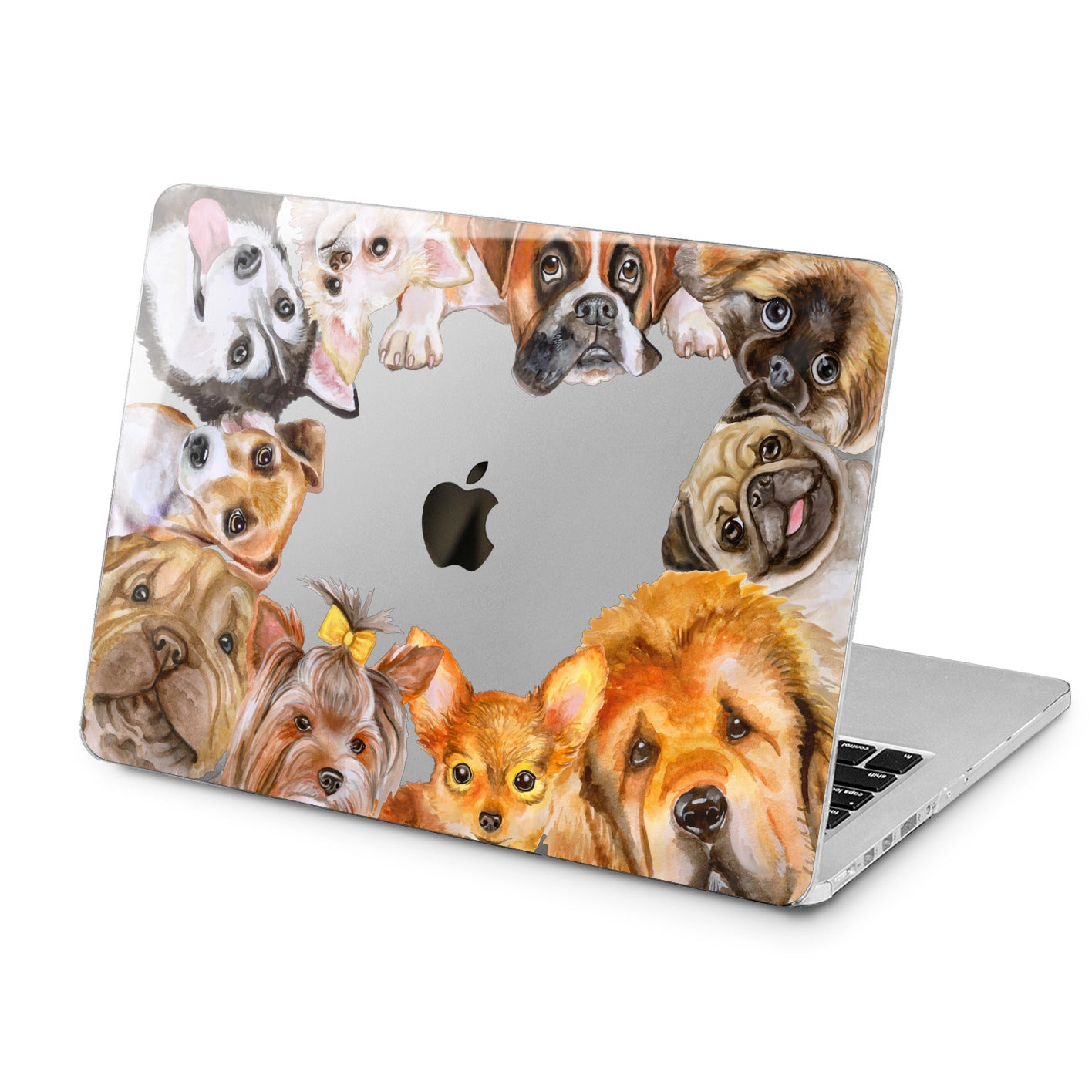 Lex Altern Lex Altern Lovely Dogs Case for your Laptop Apple Macbook.