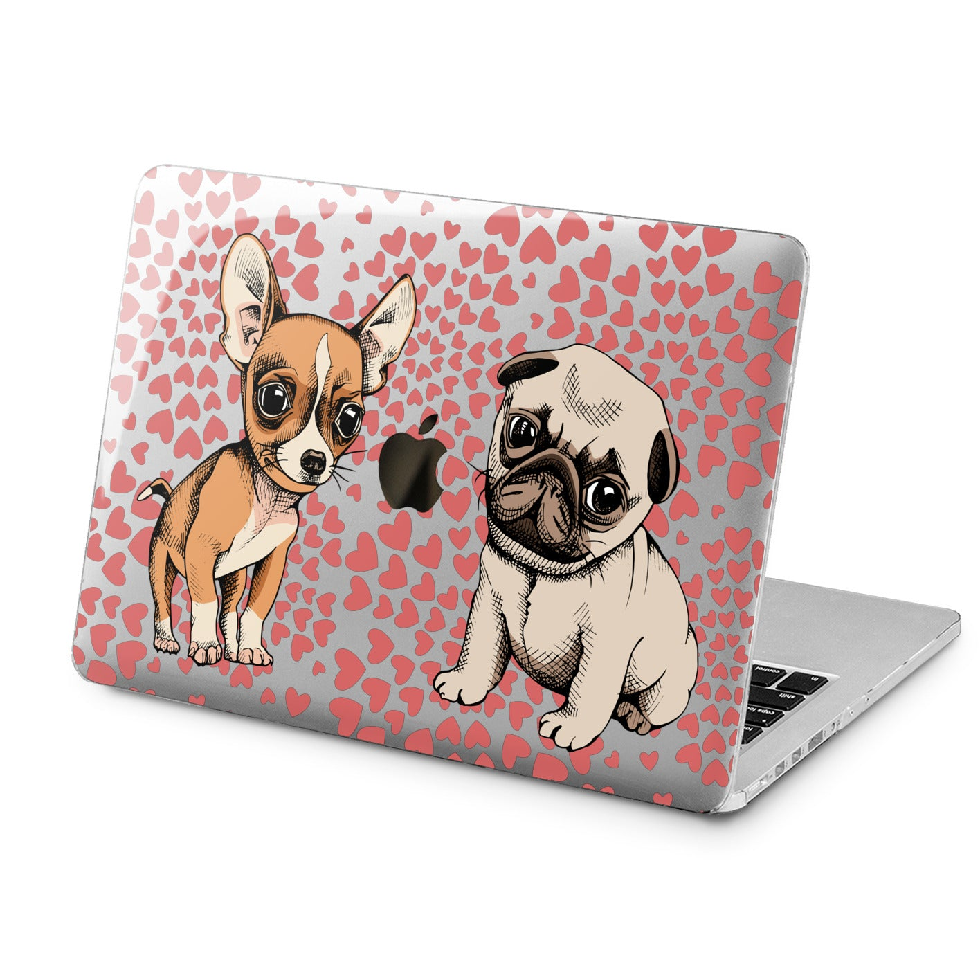 Lex Altern Lex Altern Cute Puppies Case for your Laptop Apple Macbook.