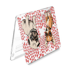 Lex Altern Hard Plastic MacBook Case Cute Puppies