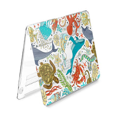 Lex Altern Hard Plastic MacBook Case Ocean Animals Print