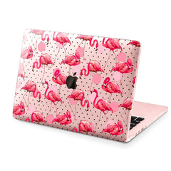 Lex Altern Hard Plastic MacBook Case Pink Flamingo