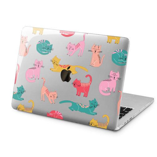 Lex Altern Lex Altern Colored Cat Case for your Laptop Apple Macbook.