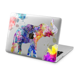 Lex Altern Lex Altern Colorful Elephant Case for your Laptop Apple Macbook.
