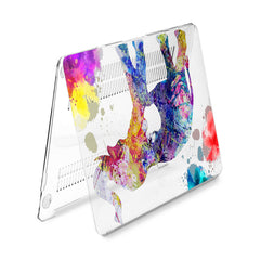 Lex Altern Hard Plastic MacBook Case Colorful Elephant