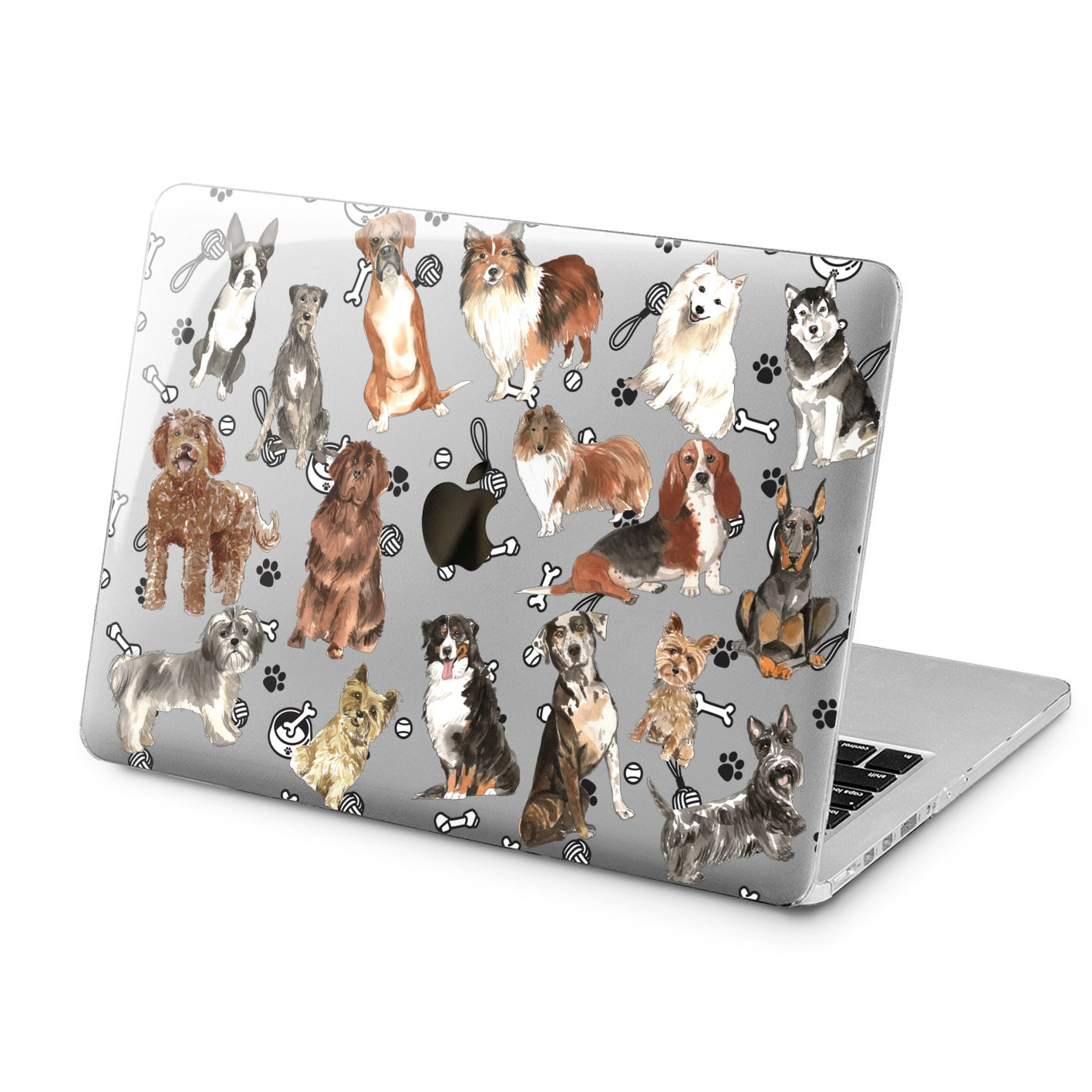 Lex Altern Lex Altern Amazing Dogs Case for your Laptop Apple Macbook.