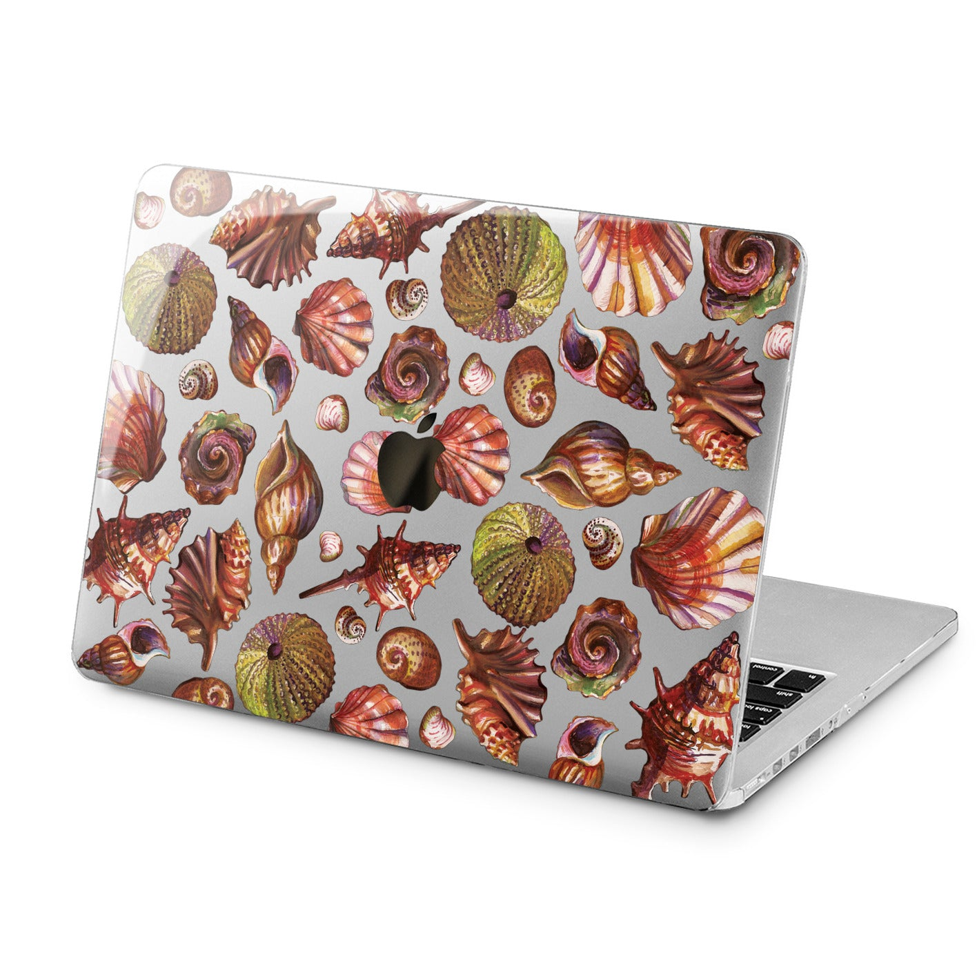 Lex Altern Lex Altern Beautiful Seashells Case for your Laptop Apple Macbook.