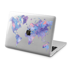 Lex Altern Lex Altern Continental Map Case for your Laptop Apple Macbook.