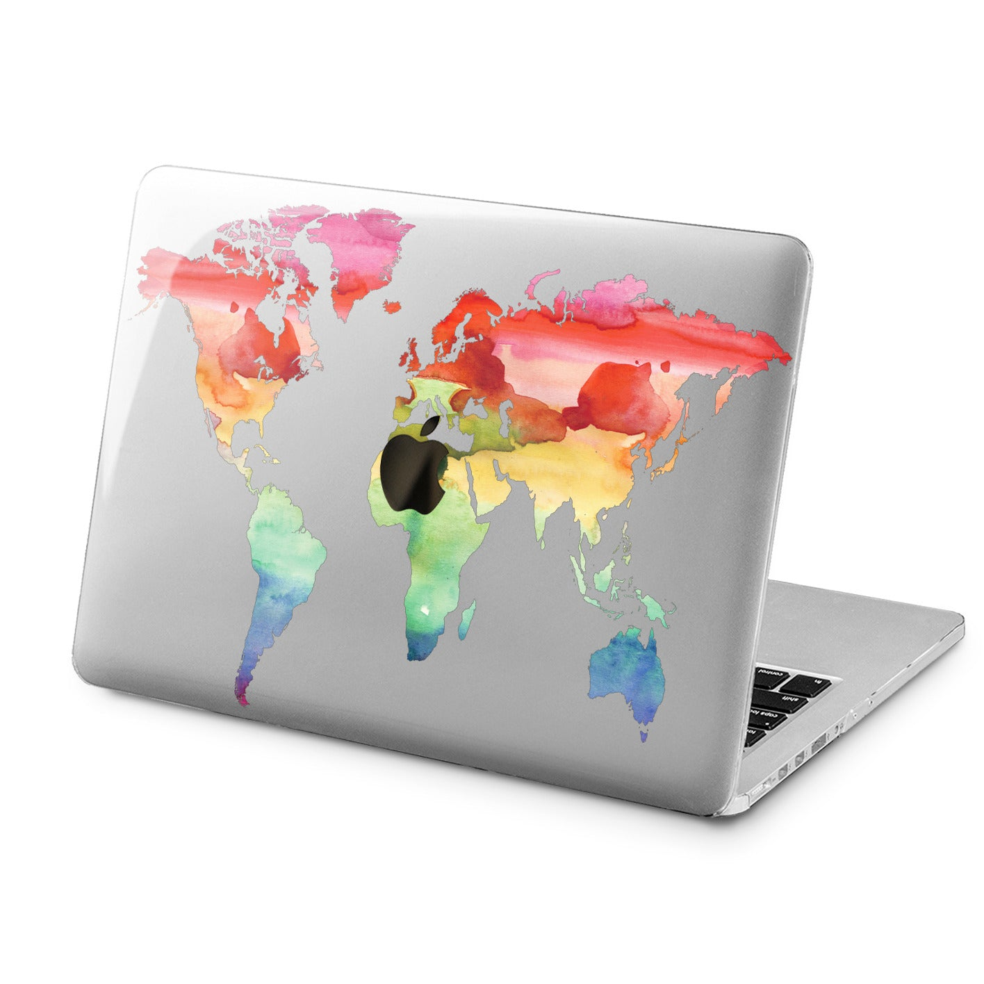 Lex Altern Lex Altern Colorful Map Case for your Laptop Apple Macbook.