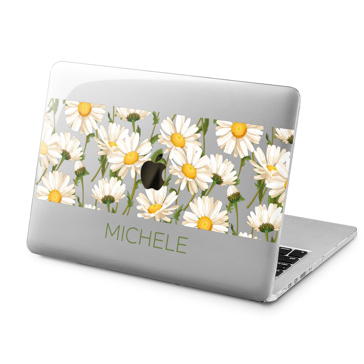 Lex Altern Lex Altern Daisy Flowers Case for your Laptop Apple Macbook.