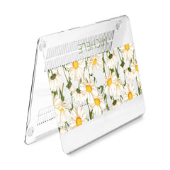 Lex Altern Hard Plastic MacBook Case Daisy Flowers