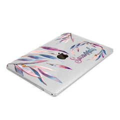 Lex Altern Hard Plastic MacBook Case Purple Leaves