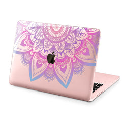 Lex Altern Hard Plastic MacBook Case Purple Mandala