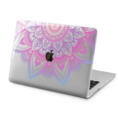 Lex Altern Lex Altern Purple Mandala Case for your Laptop Apple Macbook.